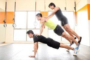 Training Friends 1