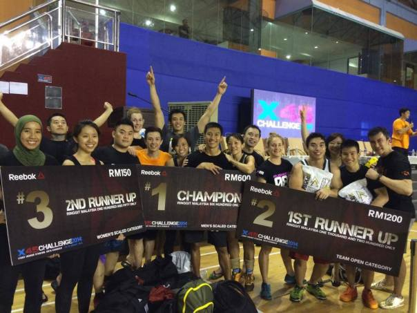 Team PushMore @ CrossFit Malaysia